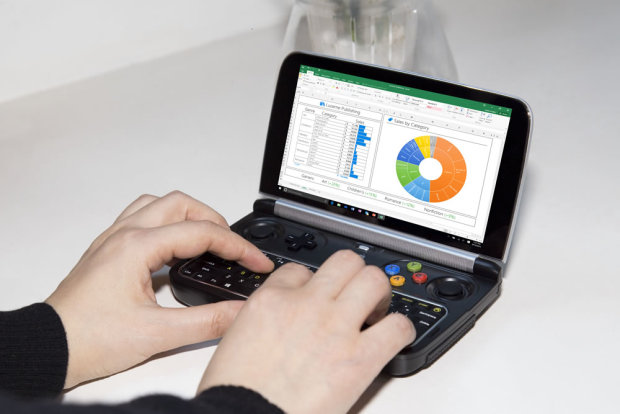 GPD Win 2 口袋游戏笔记本电脑