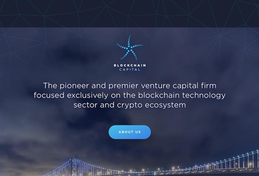 Blockchain Capital 区块链 风险投资