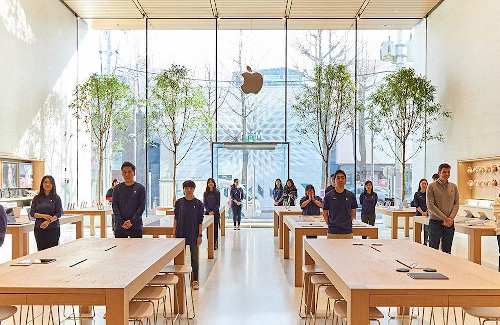 苹果 韩国