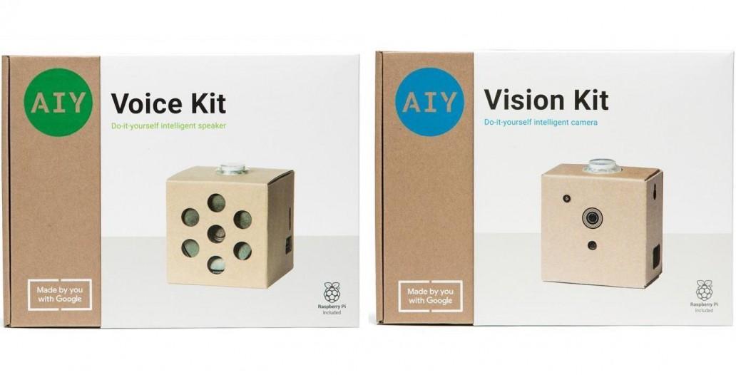 AIY Vision Kit AIY Voice Kit