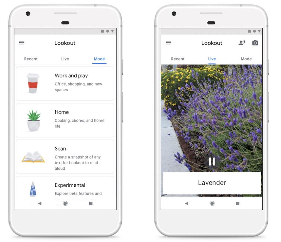 "Google 的 Lookout 应用帮助视障人士""看清""世界"