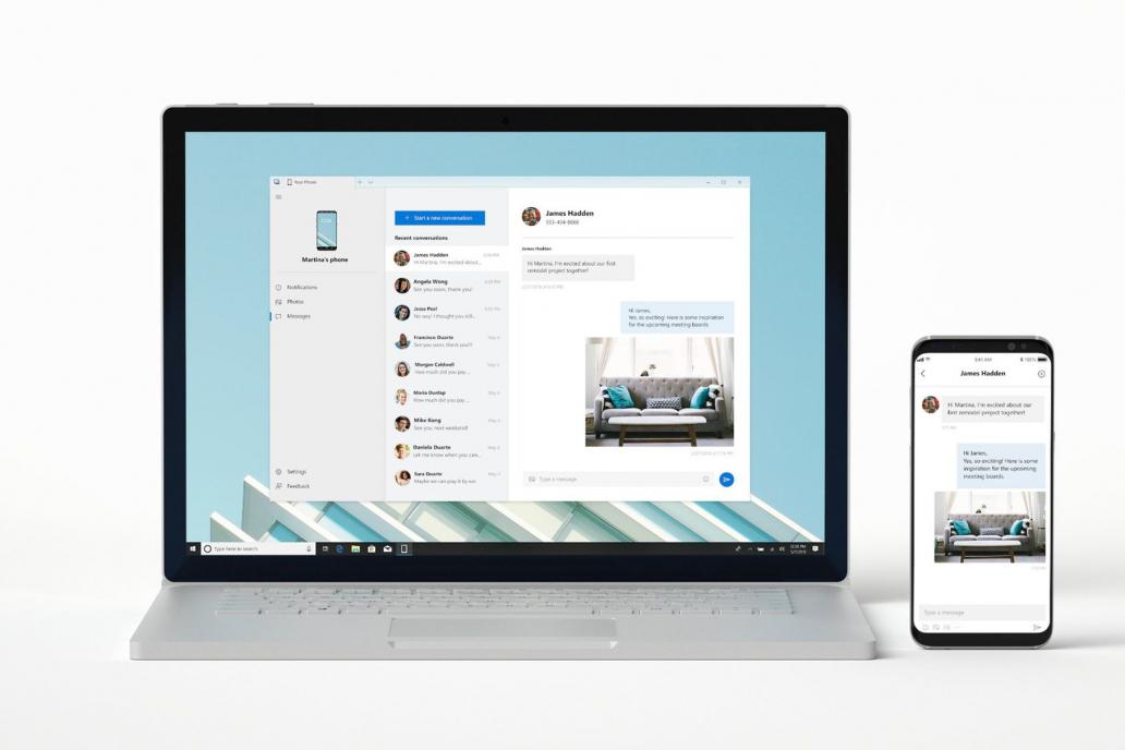 微软的新应用让 Windows 10 PC 直接访问手机里的信息、照片和通知