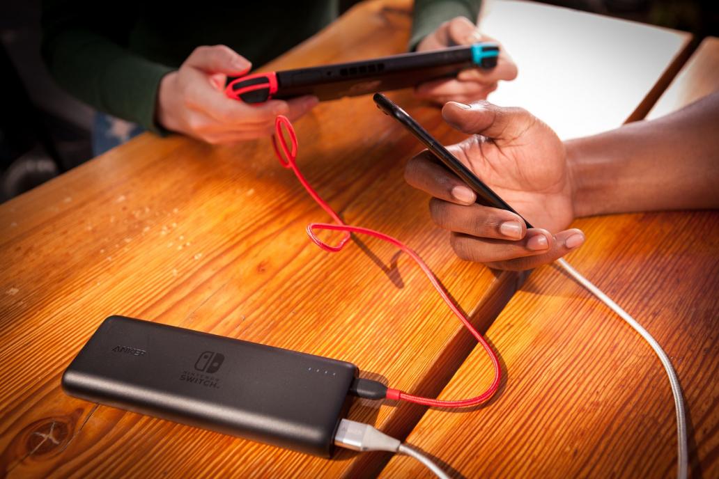 Anker 为 Switch 带来支持快速充电的专用移动电源