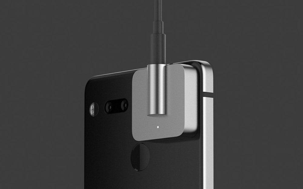 Essential 公布了一款奇怪的耳机插孔配件