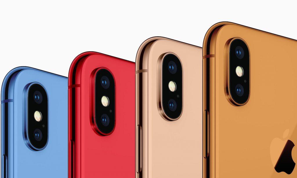 据说苹果将发布蓝、金和橘色的新 iPhone
