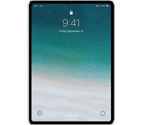 iPad iOS 12 Face ID