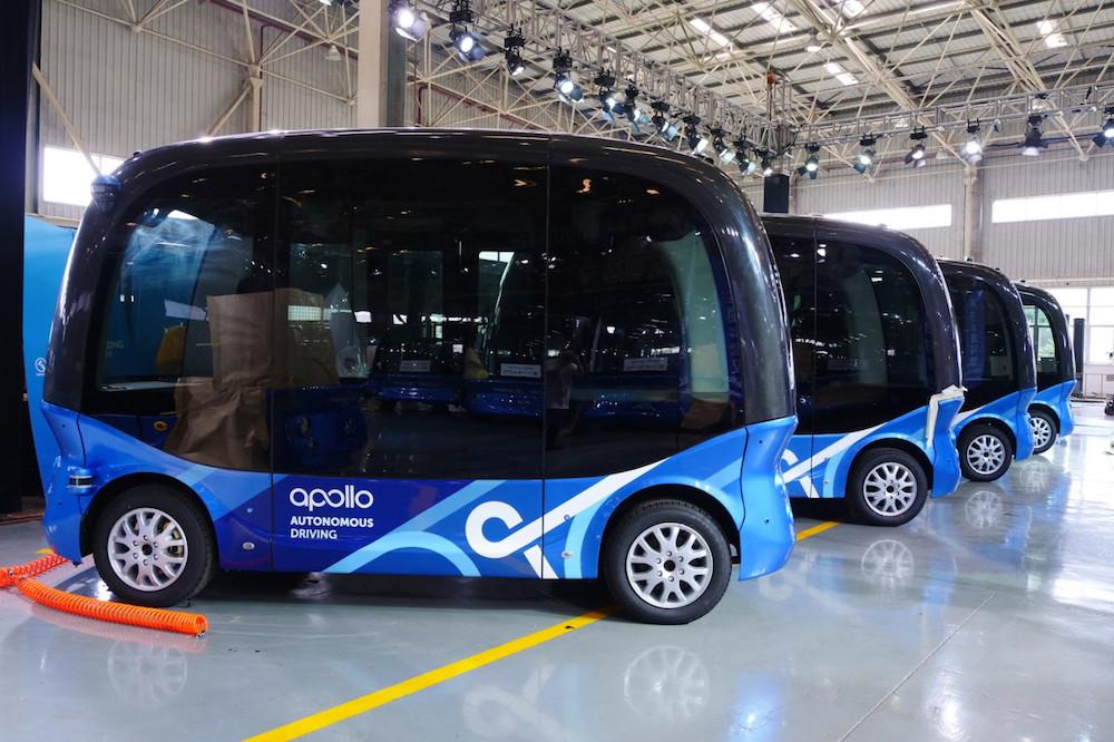 百度与软银旗下 SB Drive 合作,将把自动驾驶迷你公交带到日本