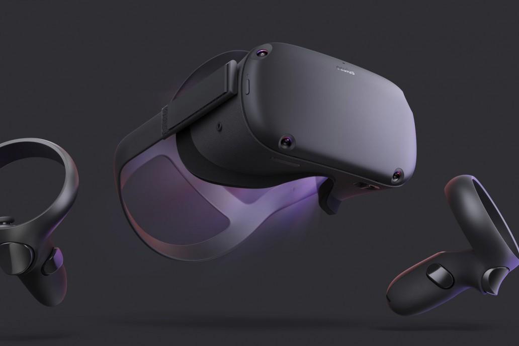 Facebook 的最新 VR 一体式头显 Oculus Quest 将于明年春发售