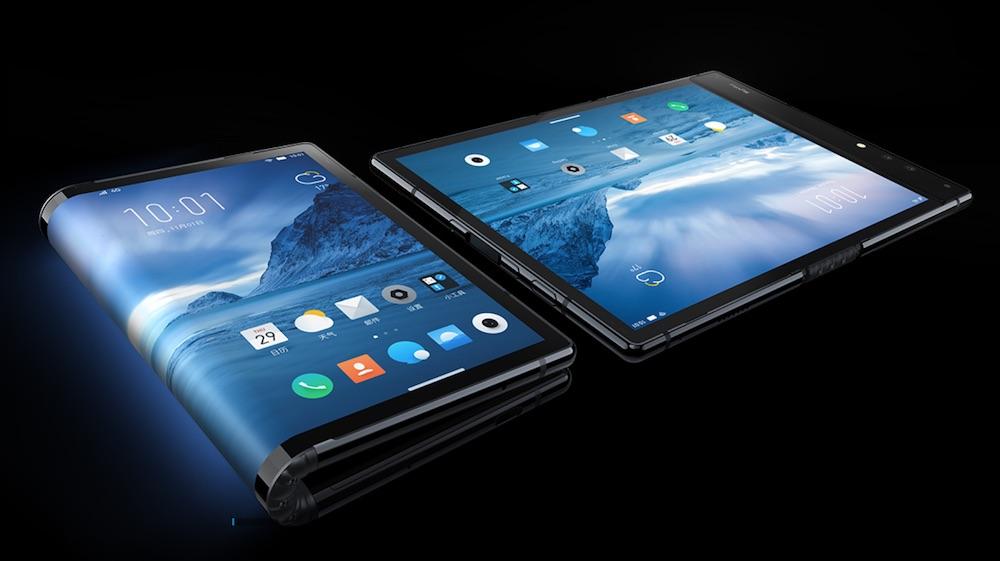 柔宇科技 可折叠屏手机 柔宇科技(Royole)